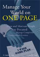 Manage Your World on ONE PAGE